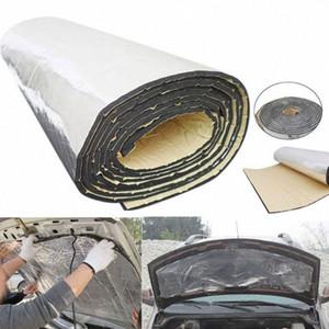 100 * 40 * 0,5 centimetri Isolamento acustico Auto Hood stuoia di calore deadener Isolamento acustico fonoassorbente Auto alluminio Insonorizzazione Cotton e1E3 #