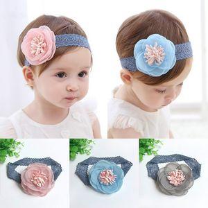 Big Fleurs Bébés filles Bandeau Mignon Dentelle Fleur Enfants Enfants Enfant Chapeaux Accessoires de cheveux