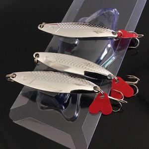 1pc VIB Spoons Metal Baits & Lures 6CM 9.43G 6# Fishing Hooks LY_080