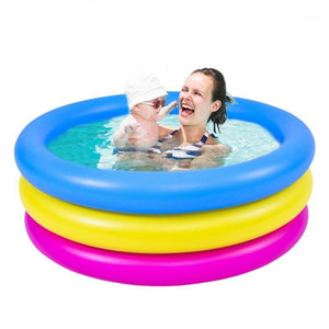 Pool Accessories Inflatable Swimming Pool Kid Blow Up Thickened 3-Ring Inflatable Outdoors Have Fun Piscina1