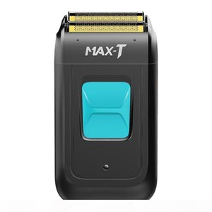 MAX-T 1002 Electric Shaver for Men Twin Blade Waterproof Reciprocating Cordless Razor USB Rechargeable Shaving Machine Barber