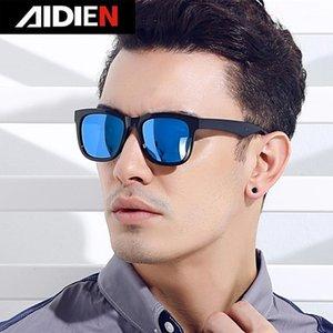 2020 Nuevo Estilo Aidien Gafas de sol Polarizadas Vintage Retro Gran Marco cuadrado Moda Conducción Gafas Hombre Mujeres TrendSetter UV4001