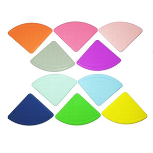 Silicone Cuir Triangle Triangle Soitrant Safe Silicone Teams Toy Smart pour Diy Bibs à crochets BPA BPA Free Draps DHE4584