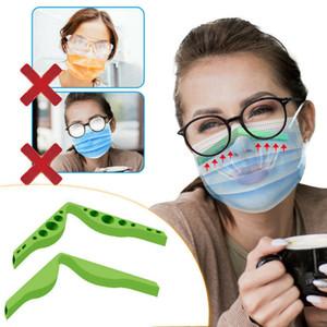 Anti-Nebel-Silikon-Nasen-Bridge-Pads Nasenbrücken Flexibles Design-Schutzstreifen-Zubehör für Verhindern von Brillen von der Nebelmaske RRA3757