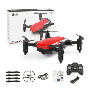 LF606 Wifi FPV Foldable RC Drone with 0.3MP 2MP 5MP HD Camera Altitude Hold 3D Flips Headless Mode RC Helicopter Aircraft Airplane