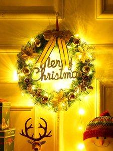 80cm   Decorations 50 30 40 garland door pendant wreath hanging hotel window setting