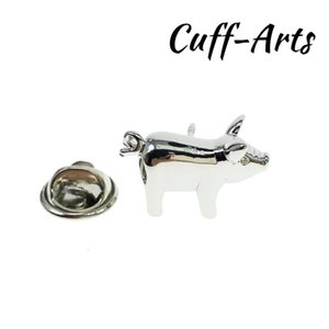 Cuffarts Lapel Pin For Men Pig Farm Lapel Pin Badge Pride Women Accessories Brooch Hijab Pins Enamel Broche P10079