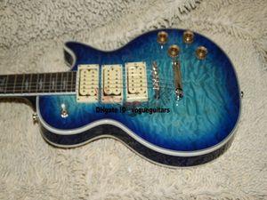 Custom Shop Ace Frehley elektrische Gitarre in Bule Burst Beste Oem Gitarre aus China