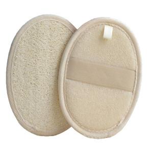 10 * 14,5 cm Natürliche LOOFAH PAD-LOOFAH-Wäscher Entfernen Sie die tote Haut-LOOFAH PAD-Badschwamm für Zuhause oder Hotel