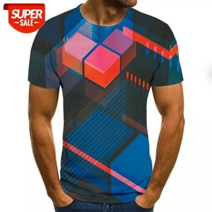 New hot sale men clothes 2020 3D Men's T-Shirt Summer printed casual shirt Plus size O-Neck short sleeve fashion t shirt #2n6P