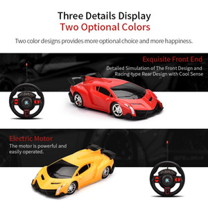 Child 1:16 four way remote control car with light high quality toy gift Two color optional