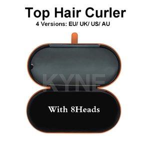 Top qualité 8Heads bigoudi multi-fonctions Appareil styler Fer à friser automatique pour cheveux normaux avec boîte-cadeau
