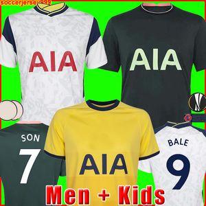 20 21  KANE futbol forması BERGWIJN LO CELSO 2020 2021 LUCAS DELE SON formalarını üniformalar erkek + çocuk kiti mahmuzlar