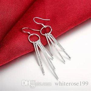 Großhandel -Tiefste Preis Weihnachtsgeschenk 925 Sterlingsilber-Art und Weise Ohrringe E026