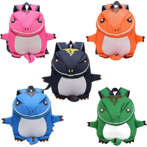 Children Cartoon School Bag Backpack Dinosaur Shaped Fashion ParentChild Travel Kindergarten 2 5 Years Old Kids Backpacks Bags