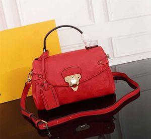 Venditore caldo per le donne Classic Designer Flower Designer Borse in rilievo Pattern Designer Designer Handbag Real in pelle Borsa a tracolla Borsa a mano Borsa a mano