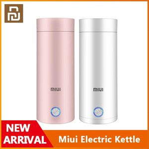 Xiaomi Youpin Miui Portable Electric Kettle Thermal Cup Coffee Travel Water Boiler Temperature Control Smart Water Kettle Thermos Pot