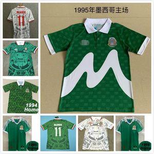 ^ _ ^ بالجملة ريترو 1998 المكسيك لكرة القدم الفانيلة الكلاسيكية خمر تايلاند الرئيسية الزرقاء بعيدا BLANCO HERNANDEZ الزي الرسمي لكرة القدم قميص كرة القدم