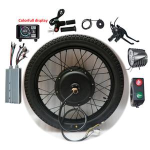 Eléctricos de la conversión de la bicicleta Kit 60V 72V 1500W 3000W 5000W 8000W 18-29inch bicicleta 700C EBike motor de la rueda trasera