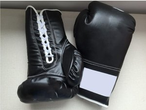 A-48 Black and Red twins boxing gloves adult playing sandbags parry that men and women fight training sanda muay Thai boxing gloves