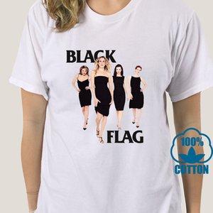 Bandeira 3965A Sex And The City preto camiseta de algodão branco das senhoras S-3XL Us Fornecedor de alta qualidade Camiseta esporte moletom com capuz Hoodie