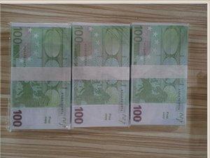 New 100 Ticket Paper Counterfeit Children Billet Euro Props Prop Qicvw LE100-43 Gift Toy Magic Faux Money Wxpdb