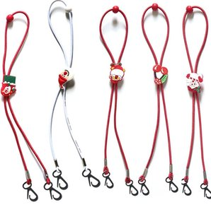 Anti-Loss Mask Rope Lanyard Extension маска Регулируемый талреп Handy Mask Rope Hang On Neck Строка Маски Rope Рождество KKA1640