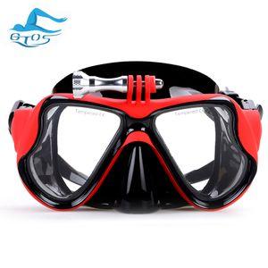 GoPro hero HD 4,3,2,1, sj4000, sj5000 go professional camera diving mask