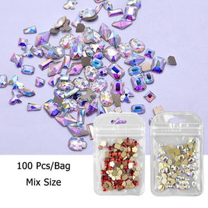 26 letter rhinestones for nail art decorations zircon diamond charms gem alloy nail art accessories