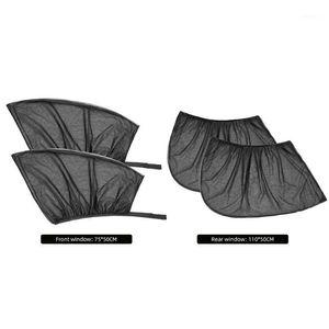 Vehicle Windshield Sunshade Window Curtain sunshademesh Shades Window Mesh 2pcs UV Protection Car Sun Visor Durable Portable1