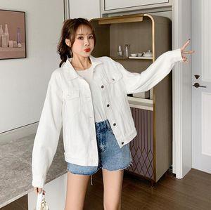 Hot Sale Women Denim jacket 2020 Fashion Three-dimensional bear splicing lovely Jeans jackets coat female casual long sleeve Outerwear