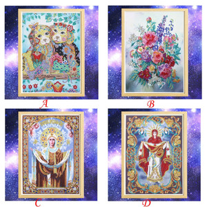 Special Shaped Diamonds Painting DIY 5D Partial Drill Cross Stitch Kits Crystal high quality broderie diamant