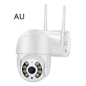 Super Mini PTZ Wifi Camera H.265 Onvif Wireless Wired IP Camera 4xDigital Zoom AI Human Detection Dual Light Source