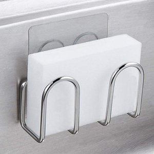 Metal Pad Scrubbers Rack Scouring Sponge Drainer Sink Towel Tool Shelves Fiber Holder Drying Suction Cup Kitchen Soap bbyRmB wrhome