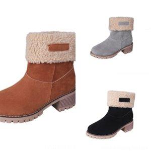 F5es iyi moda deri diz çizmeler satmak Hakiki kadınlar pamuklu kumaş harfler yuvarlak kafa isabel botları kovboy çizme orta patik için