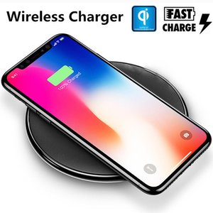 N5 Qi 10W Fast Charging Wireless Charger Quick charging Pad for iPhone 11 X 8 Plus Samsung S8 Plus Qi-enabled Devices