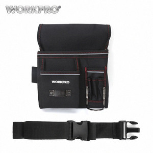 WorkPro Multifunktionsgürtelwerkzeugtasche Werkzeughalter Elektriker Hüfttasche Praktische Arbeit Organizer MNzE #