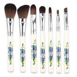 professianal synthetic hair big loose powder brush7pcs makeup brushes tools cosmetic brushes kits