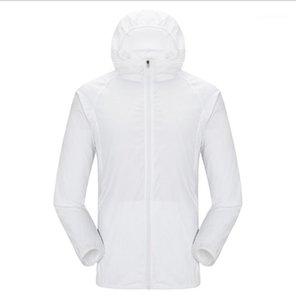Мужские куртки Мульти-Пары Пальто Открытый Ветровый щит Ультратонкая Солнцезащитная Одежда Дышащая Кожа пыли1