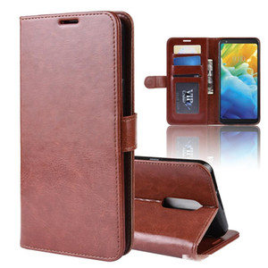 phone case For LG K40S Stylo 5 K40 G7 G8 Q7 V50 V40 ThinQ 5G crazy horse wallet leather cover stand Cases