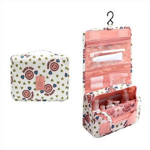Women Travel Make Up Bag Ladies Waterproof Hanging Cosmetic Bags Female Necessaire Makeup Wash Pouch Toiletry Bag Bath Organizer