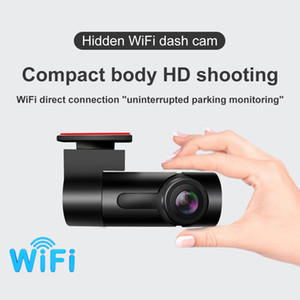 Mini Dash Cam 1080P HD Video Recorder Wifi Dual Car DVR Night Vision Car Accessory Gps Black Box TV Safe Parking Monitor Camera