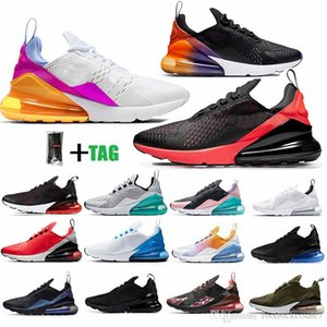 Size Eur 47 48 49 270 Running Shoes White Triple Black Bred Mens Ladies Trainers Platinum Jade Vapourmax Women Sport Sneaker us 12 13 14