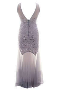 *Lifu 1920s Inspired Sequin Deco Gatsby Dress Vintage Party