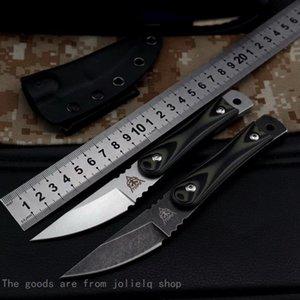 Coltello alto tattico chirurgico di qualità dritta Top SSS07 Coltello D2 acciaio G10 maniglia Camping Caccia all'aperto LifeSaving Portable Qynf Xrydq