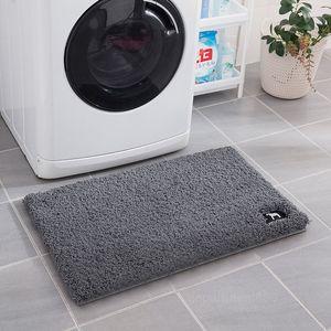 A-Toilet door doormat absorbent pad carpet entrance floor mat bedroom toilet bathroom household non slip