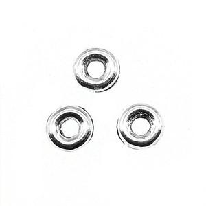 120pcs Beads Spazio 5x5x1mm per i monili del braccialetto la collana che fa all'ingrosso argento antico Piccolo distanziatori del foro Beads Charm