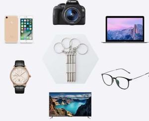 3 في 1 eyeglass مفك المفك المفاتيح إصلاح نظارات ووتش الهاتف ثلاثي تنوعا مفك البراغي الصغيرة نظارات دقيقة بيبيukb garden2010