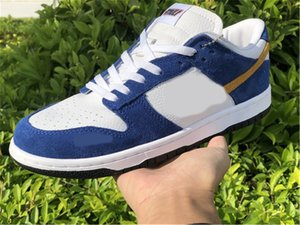 Kasina x DunkSb Low Sail University Gold-Industrial Blue CZ6501-100 Dunk Men Running Shoes Authentic Trainers Sneakers Size 5.5-12