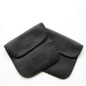 Оптовые новые моды черный цвет наушники наушники USB кабель кожаный чехол чехол сумка для хранения Контейнер DWD2924